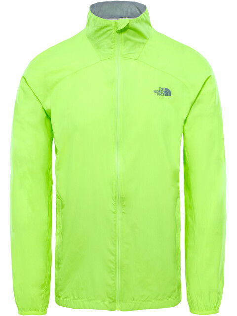 The North Face Ambition Jacket Men Dayglo Yellow Heather